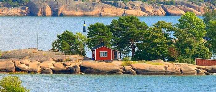 Ahvenanmaan saaristo on loistava paikka rauhasta pitäville ihmisille