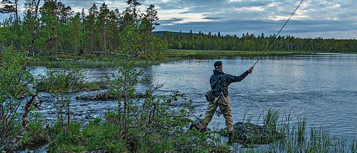 Inari on kalastajien suuressa suosiossa